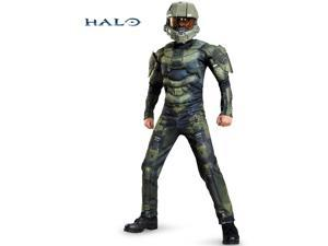 Halo Master Chief Classic Muscle Chest Costume for Kids