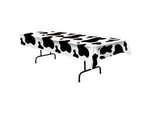 Cow Print Table Cover (Each) - Party Supplies