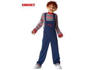 Boy's Licensed Chucky Mask and Costume