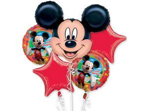Mickey Mouse Mylar Balloon Bouquet (each) - Party Supplies