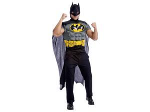 Batman Muscle Chest Top Costume for Adults