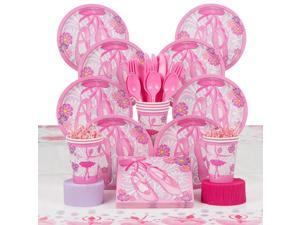 Ballerina Deluxe Kit (Serves 8) - Party Supplies