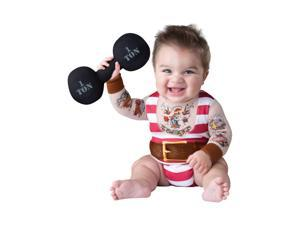 Silly Strongman Costume for Toddler