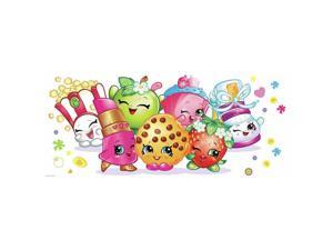 Shopkins Pals Peel and Stick Giant Wall Graphic (Each) - Party Supplies