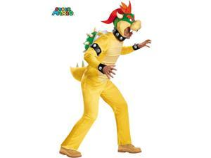Adult Nintendo Super Mario Bowser Deluxe Costume