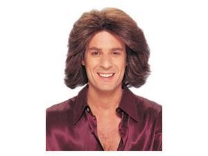 Adult 70's Feathered Brown Wig Franco American Novelties 24608