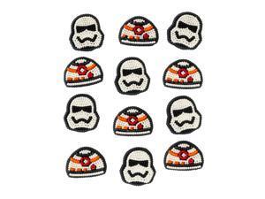 Star Wars Yoda and Darth Vader Icing Decorations (12 Pack) - Party Supplies