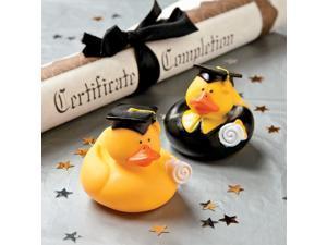 "Graduation 2"" Rubber Duckies (Each) - Party Supplies"