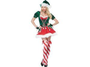 Adult Santa's Helper Sexy Elf Sexy Costume