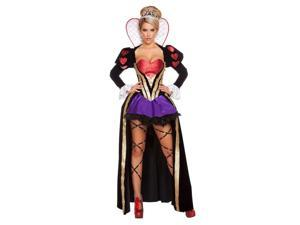 Adult Sultry Heartless Queen Sexy Costume