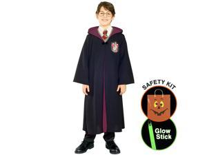 Harry Potter (tm) Robe Child Halloween Trick or Treat Safety Kit