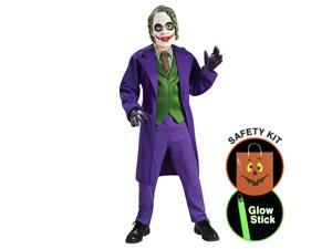 The Joker (tm) Deluxe - Child Halloween Trick or Treat Safety Kit