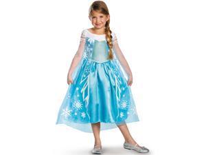 Girl's Frozen Elsa Deluxe Costume