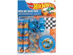 Hot Wheels Wild Racer Mega Mix favor Pack (For 8 Guests) - Party Supplies