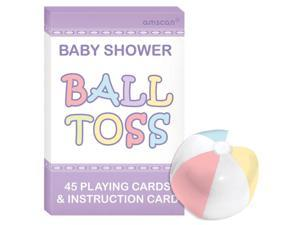 Baby Shower Question Ball Game (Each) - Party Supplies