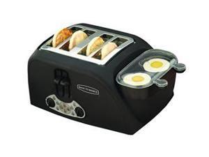 Back to Basics TEM4500 4-Slot Egg-and-Muffin Toaster