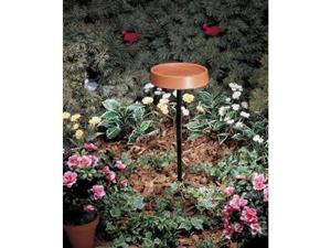 12-inch Heated Bird Bath with Metal Stand