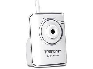 TRENDnet TV-IP110WN 640 x 480 MAX Resolution RJ45 SecurView Wireless N Internet Camera