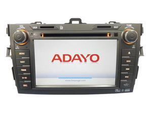 Toyota Corolla 09-11 Adayo OEM Replacement In-Dash Double Din LCD Touch Screen GPS Navigaiton Multimedia Radio