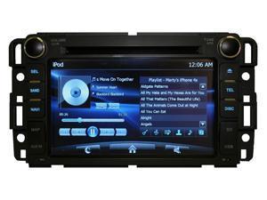 "Chevrolet Malibu 07-11 OEM Replacement In Dash Double Din 8"" LCD Touch Screen GPS Navigation Multimedia Radio [K-series]"