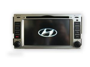 "HYUNDAI SANTA FE 07-10 OEM REPLACEMENT IN DASH DOUBLE DIN 7"" LCD TOUCH SCREEN GPS NAVIGATION BLUETOOTH CD/DVD PLAYER MULTIMEDIA RADIO"