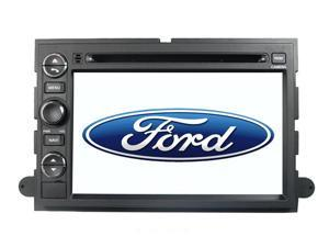 "FORD EDGE 07-10 OEM REPLACEMENT IN DASH DOUBLE DIN 7"" LCD TOUCH SCREEN GPS NAVIGAITON CD/DVD PLAYER MULTIMEDIA RADIO"