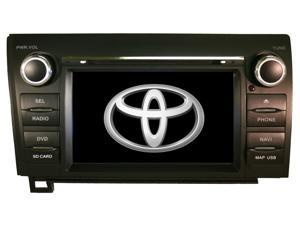 Toyota Tundra 2007-2012 K-Series In-Dash Multimedia Navigation GPS System Radio FM/AM Aux iPod DVD USB CD SD Double Din Bluetooth