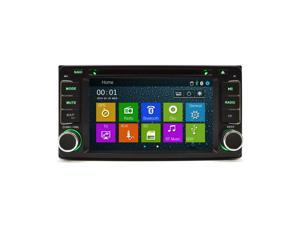 "Toyota Highlander 2002-2007 K-Series In Dash Multimedia Navigation System GPS OE Fitment DVD 6.5"" Double Din FM/AM AUX USB SD Bluetooth"