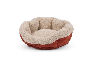 "Warm Spice, Creme Self Warming Cat Bed, 19"" Aspen Pet Pet Supplies 80135"