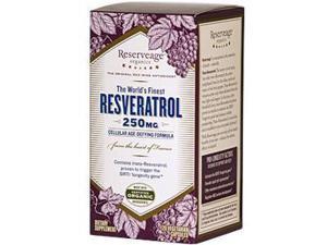 ReserveAge Organics, Resveratrol, Cellular Age-Defying Formula, 250 mg, 120 Veggie Caps