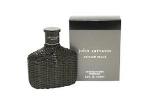 John Varvatos Artisan Black Cologne- Eau De Toilette Spray 2.5 Oz / 75 Ml for Men