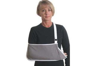 Pocket Style Arm Sling, Hook & Loop Adjustment, Youth