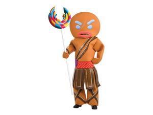 Adult Gingerbread Man Costume - Warrior