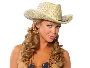 Cowgirl Straw Hat