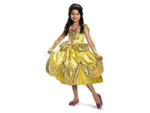 Child Girl Belle Lame Deluxe Costume Disguise 27160