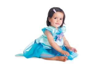 Infant Girls Disney Ariel Costume Size 12-18 Months