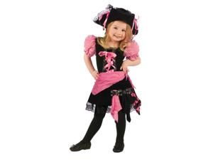 Pink Punk Pirate Costume - Toddler