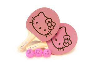 Hello Kitty Sports Ping Pong Starter Set (2 Paddle, 3 Balls)