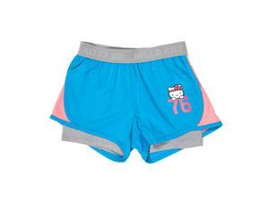 Hello Kitty 2-in-1 Flash Short w/ embossed logo waistband - Size 7/8