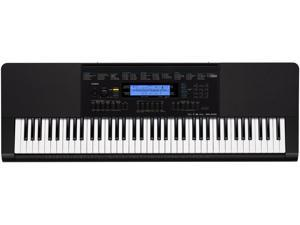 Casio WK-245 76-Key Workstation Keyboard with Power Supply WK245