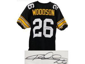 Rod Woodson signed Pittsburgh Steelers Black Prostyle Jersey