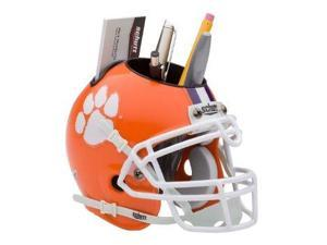 Clemson Tigers NCAA Football Schutt Mini Helmet Desk Caddy