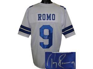 Tony Romo signed Dallas Cowboys White Prostyle Jersey