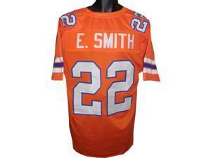 Emmitt Smith Florida Gators unsigned Orange TB Custom Jersey XL