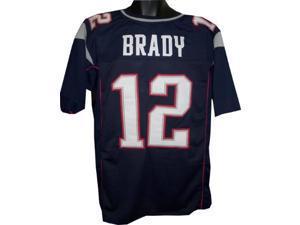 Tom Brady New England Patriots unsigned Navy Prostyle Jersey XL