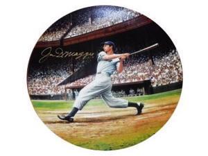 "Joe DiMaggio signed New York Yankees Bradford Exchange ""The Streak"" Collector's Plate LTD 5699"