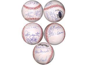 Al Kaline signed 3000 Hit Club Official National League Baseball with 13 signatures-Steiner Hologram (Detroit Tigers)