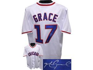 Mark Grace signed Chicago Cubs White Prostyle Jersey