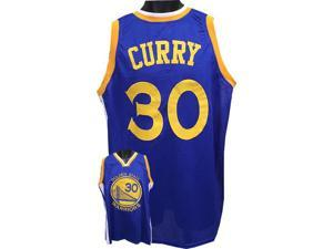 Stephen Curry Golden State Warriors unsigned Blue Prostyle Jersey XL
