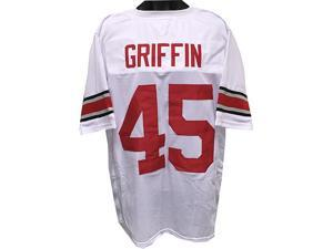 Archie Griffin Ohio State Buckeyes unsigned White TB Custom Jersey XL
